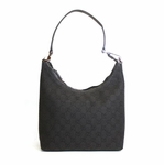 Gucci Black Canvas Hobo