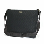 Gucci Black Cross Body Messenger Bag 190628