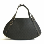 Gucci Black Denim Abbey Hobo