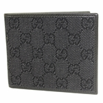 Gucci Black Denim Orwell Wallet 260987