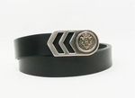 Gucci Black Emblem Belt 253486