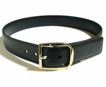 Gucci Black Leather D Ring Belt 260934