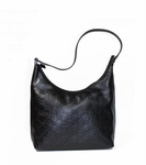 Gucci Black Leather Hobo 257282