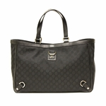 Gucci Black Nylon Abbey D Ring Large Tote Bag 293580