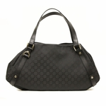 Gucci Black Nylon Abbey Hobo Handbag 293578