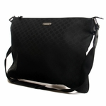 Gucci Black Nylon Messenger Bag 190628