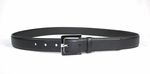 Gucci Black Pebbled Leather Belt 25343