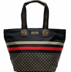Gucci Blue Diamante Tote