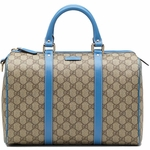 Gucci Blue 'Joy' Boston Bag 193603