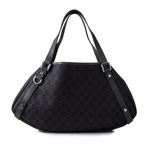 Gucci Brown Canvas and Leather Abbey Hobo Bag 293578