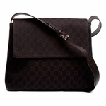 Gucci Cross Body Messenger Bag Brown