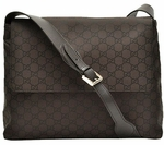 Gucci Crossbody Messenger Bag Brown