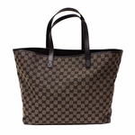 Gucci Brown Canvas GG Tote Bag 257245