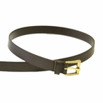 Gucci Brown Leather Belt for Men 196852