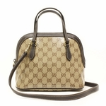 Gucci Crystal Convertible Small Dome Crossbody  handbag 341504