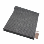 Gucci Charcoal Cashmere/Wool Scarf 165904