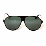 Gucci Cheetah Print Aviator Sunglasses