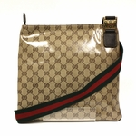 Gucci Crystal Web Crossbody Messenger Bag 336670