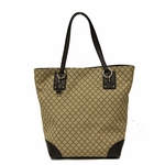 Gucci Diamante Canvas and Leather Medium Shoulder Tote Bag 353706