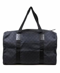 Gucci Duffel Bag Black Canvas 105671