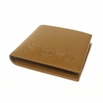 Gucci Embroidered Interlocking G Horsebit Brown Leather Bifold for Men 295596