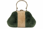 Gucci Evening Bag Mink Bamboo