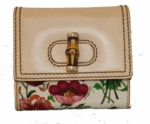 Gucci Floral Canvas Bi-fold Women's Wallet 138038