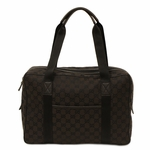 Gucci GG Guccissima Brown Canvas Business Tote Bag 282529
