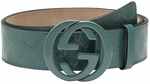 Gucci GG Imprim� Interlocking G Buckle Belt