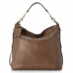 Gucci Harness Large Leather Hobo Shoulder Handbag 338993, Maple Brown