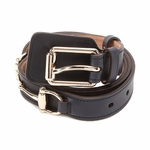 Gucci Horsebit Belt Black Leather 271657