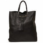 Gucci Horsebit Large Soft Leather Tote Bag 297005