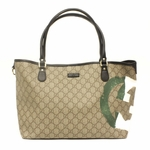 Gucci Italy GG Flag Collection Shoulder Tote Bag 203693
