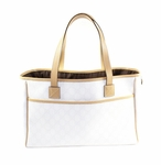 Gucci Ivory GG Plus Tote 264216