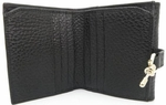 Gucci Jackie Black Leather Wallets 141439