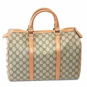 Gucci Joy GG Plus Peach Boston Bag