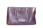 Gucci Joy Leather Tote Handbag 257302 204991 Purple