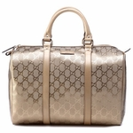 Gucci Joy Medium Boston Bag Champagne 193603 FU49G 9504