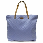 Gucci Large Blue Nylon Open Tote Beach Bag 295252