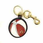 Gucci Leather Beach Ball Key Ring Chain 338797 AT60G 4179
