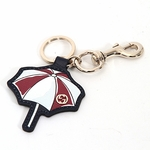 Gucci Leather Beach Umbrella Key Ring Chain 338794 AQ90G