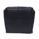 Gucci Leather Coin Pouch 337837, Navy Blue