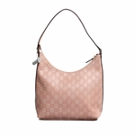Gucci Leather Hobo Pink 257282