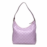 Gucci Leather Tote Lavender 257282