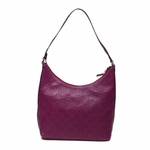 Gucci Leather Tote Plum 257282