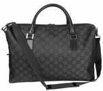 Gucci Luggage Bag Black Nylon 196356