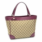 Gucci Mayfair Tote Fuschia 257061