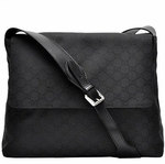 Gucci Messenger Bag Crossbody Black Nylon 272350