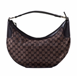 Gucci Mocha Canvas Hobo 257297