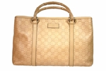 Gucci Natural Bamboo Handle Tote 257302